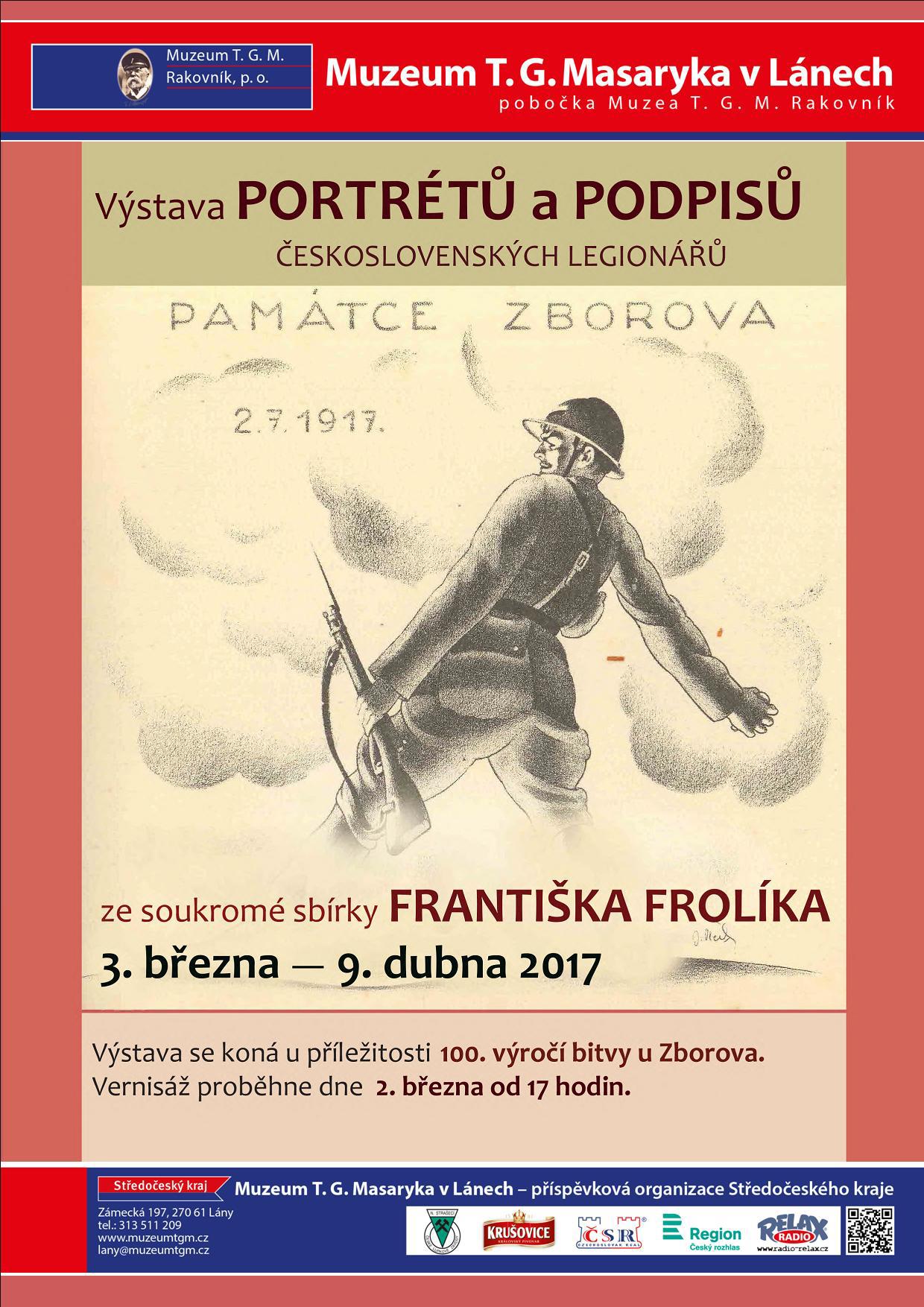 Výstava Františka Frolíka